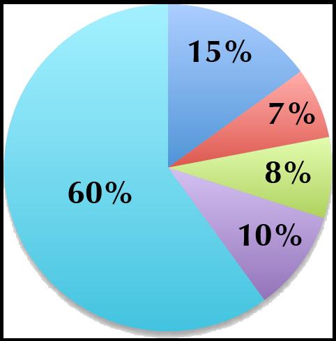 70/30 Portfolio pie chart