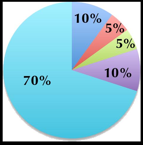 80/20 Portfolio pie chart